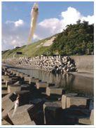錦江湾のテトラポット
