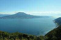 寺山公園から見た桜島