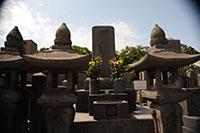 西郷さんの墓(南洲墓地)